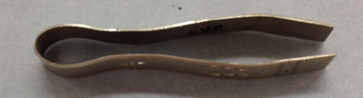 Side View of Tweezers by Murray Tonepahote (Kiowa)