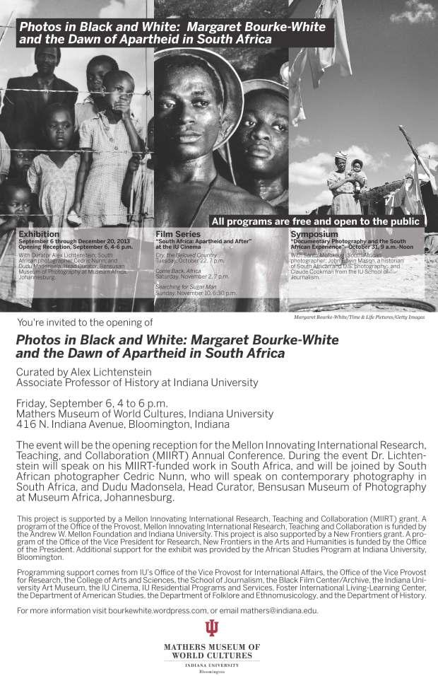 MBW Exhibition Invitation