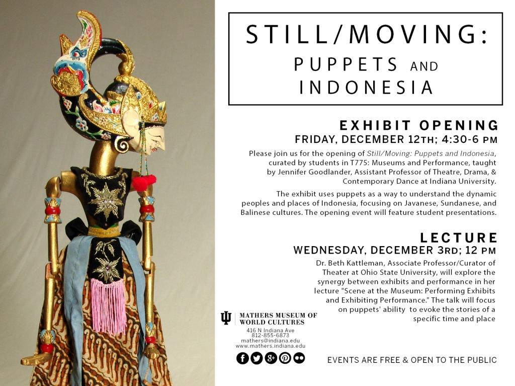 Still/Moving Lecture & Exhibition Invite