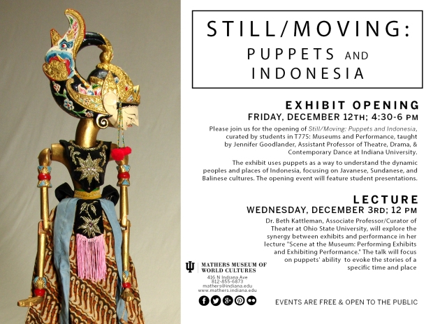 Still/Moving Lecture & Exhibition Invite