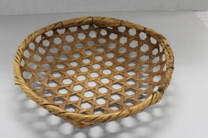 A basket cataloged as Chinese in the collections of the National Museum of Natural History, Smithsonian Institution. ET08510