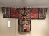"""Scenes from the textile portion of the """"Tsinghua Treasures: Exhibition of Tsinghua University Art Museum Collection."""" December 8, 2017. Photograph by Jason Jackson."""