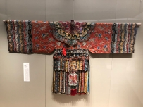 "Scenes from the textile portion of the ""Tsinghua Treasures: Exhibition of Tsinghua University Art Museum Collection."" December 8, 2017. Photograph by Jason Jackson."