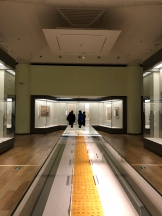"""Scenes from the paintings and caligraphy portion of the """"Tsinghua Treasures: Exhibition of Tsinghua University Art Museum Collection."""" December 8, 2017. Photograph by Jason Jackson."""