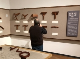 """Scenes from the furniture portion of the """"Tsinghua Treasures: Exhibition of Tsinghua University Art Museum Collection."""" December 8, 2017. Photograph by Jason Jackson."""