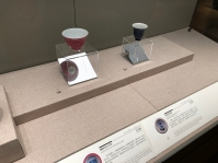 """Scenes from the ceramics portion of the """"Tsinghua Treasures: Exhibition of Tsinghua University Art Museum Collection."""" December 8, 2017. Photograph by Jason Jackson."""