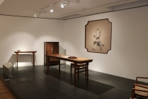 "Scenes from the furniture portion of the ""Tsinghua Treasures: Exhibition of Tsinghua University Art Museum Collection."" December 8, 2017. Photograph by Jon Kay."
