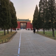 Scene at the Temple of Heaven in Beijing. December 8, 2017. Photograph by Jason Baird Jackson