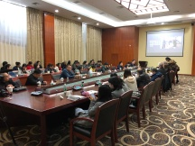Scenes from the first day of the Workshop on Ethnographic Methods in Museum Folklore and Ethnology held at the Anthropological Museum of Guangxi, Nanning. December 11, 2017. Photograph by Kurt Dewhurst.