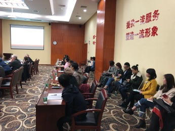 Scenes from the first day of the Workshop on Ethnographic Methods in Museum Folklore and Ethnology held at the Anthropological Museum of Guangxi, Nanning. December 11, 2017. Photograph by Jason Baird Jackson.
