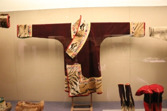 A scene from the Museum of Ethnic Costumes. December 9, 2017. Photograph by Jon Kay.