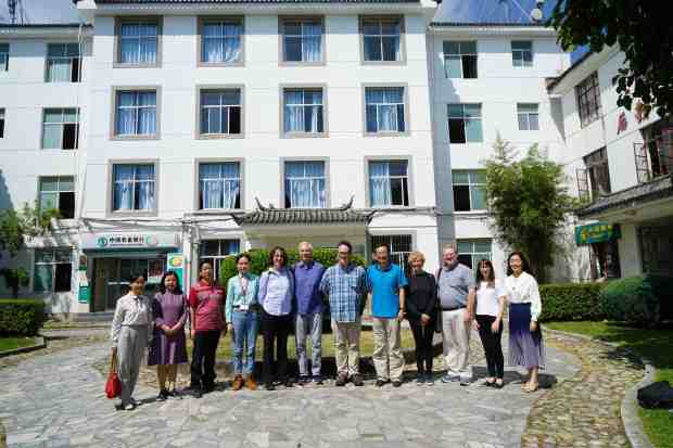 Dali University Institute of National Culture Research Group Photograph (Size Reduced)
